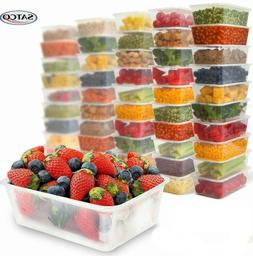 Satco Plastic Food Storage Containers Takeaway Clear with Li