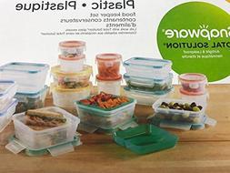 Snapware Plastic Food Storage Set 38pc