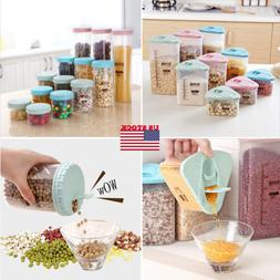 Plastic Kitchen Food Cereal Grain Bean Rice Storage Containe