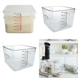 Rubbermaid Commercial Products Plastic Space Saving Square F