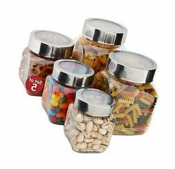 Plastic Storage Jars With Lids; Milton Food Storage Containe