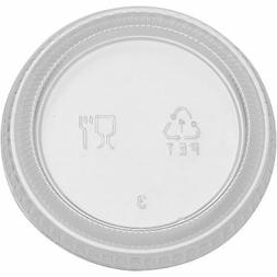 "Dixie Portion Cup Lid 2-14/25""Wx2-14/15""Lx3/10""H 2400/CT Cle"