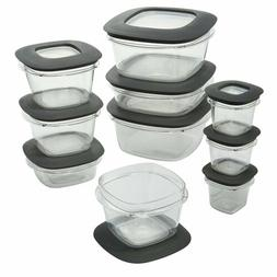 Rubbermaid Premier Food Storage Containers, 12 Sizes