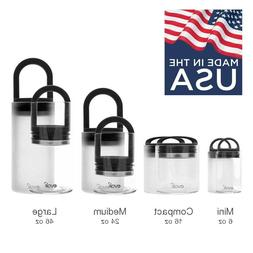 Premium Glass Storage Containers by EVAK - Air Tight Seal Li