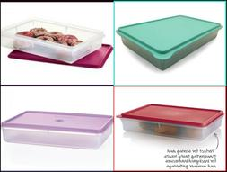 TUPPERWARE PREP ESSENTIALS LARGE RECTANGLE SNACK-STOR KEEPER