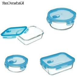 KitchenCraft Pure Seal Glass Storage Food Container Box with