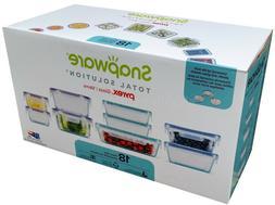 Snapware 18-piece Pyrex Glass Food Storage Set