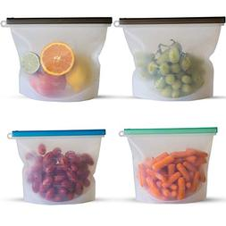 Reusable Silicone Food Storage Bags | Sous Vide Cooking | Me