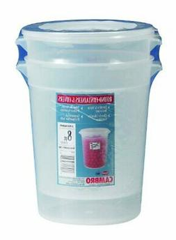 Cambro RFS8PPSW2190 8-Quart Round Food-Storage Container wit