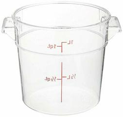 Cambro RFSCW6135 Camwear 6-Quart Round Food Storage Containe