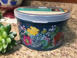 The Pioneer Woman Round Food Box Storage Vent Container 42 o