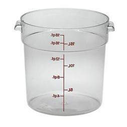 Cambro Round Storage Container Clear 18 Qt.