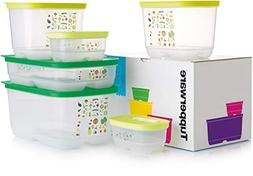 Tupperware 6-Pc Set Fridgesmart Container Airtight Food Save