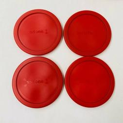Set of 4 Anchor Hocking Classic Round Food Storage Replaceme