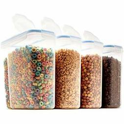 Set Of Food Storage & Organization Sets 4 Large Cereal &amp