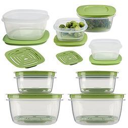 Rubbermaid16pc Set Of Produce Saver Plastic Food Storage C