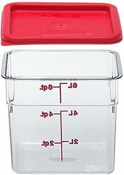 Cambro SFC6451 Li 6SFSCW135 Camsquare Food Container, 6-Quar