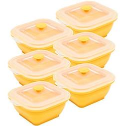Collapse-it Silicone Food Storage Containers - BPA Free Airt