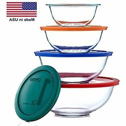 Pyrex Smart Essentials Mixing Bowl Set Including Locking Lid