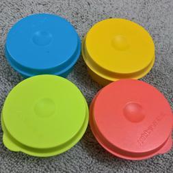 Tupperware - SMIDGETS 30ml - 4 colour minature storage conta