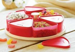 Tupperware snacks go around airtight set food kitchen storag