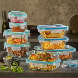 Snapware Pyrex 18 piece Glass Food Storage Set Airtight Leak