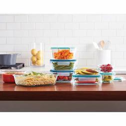 Snapware Pyrex 18-piece Glass Food Storage Set, New Free Shi