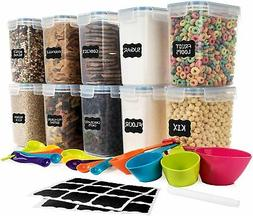SPACE SAVER Food Storage Airtight Pantry Containers  1.6L /5