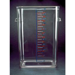 Square Storage Container Clear 22 Qt.