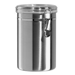 Stainless Steel Air Tight Canister 64 fl oz - Food & Coffee