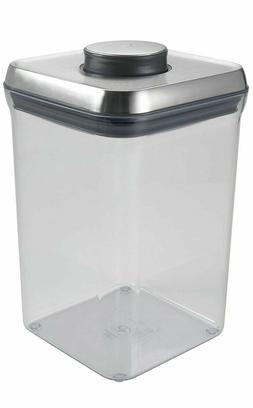 Stainless Steel Pop Container - Big Square 4.0 QT