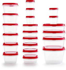Rubbermaid TakeAlongs Assorted Plastic Food Storage Containe