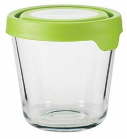 Anchor Hocking 3.5 Cup Tall Round Kitchen Food Storage with