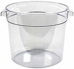 Thunder Group Polycarbonate Round Food Storage Container, 6-