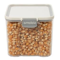Sistema Titan BPA Free Clear Plastic Food Storage Container