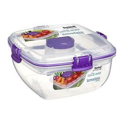 To Go Collection Salad Food Storage Container 37 oz./1 L Ass