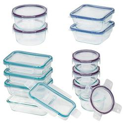 Snapware 24-Piece Total Solution Food Storage Set Glass Cont