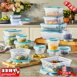 Snapware Total Solution Food Storage Set, Plastic, 38-Piece