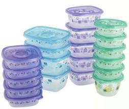 Glad Tupperware 40 Piece Set Meal Prep Food Storage Kitchen