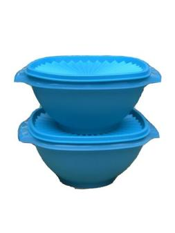 Tupperware Classic Servalier Bowl set of 2 Container 4 cups