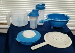 Tupperware Kitchen Set!  Blue 4 Products. New!