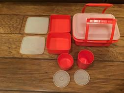 TUPPERWARE Pack N' Carry Lunch Box Container