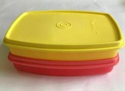 Tupperware  Small  Slim  Lunch  Box  Multi purpose  Multi  c