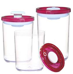ArtiGifts Vacuum Seal Food Storage Containers with Lids - BP