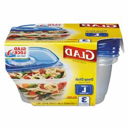 Value Pack - 18pk GladWare Deep Dish Food Storage Containers