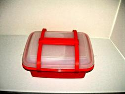VINTAGE TUPPERWARE PACK N' CARRY LUNCH BOX CONTAINER #1254 1