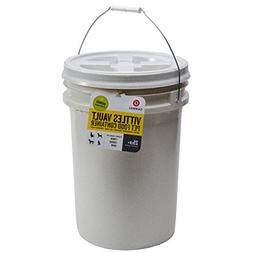 Gamma2 Vittles Vault 25 lb Airtight Bucket Container for Foo