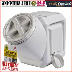 Gamma2 Vittles Vault Airtight Stackable Pet Food Storage Con