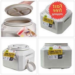 Vittles Vault Plus for Pet Food Storage Container Large 35 l