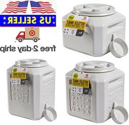 Vittles Vault Plus Pet Food Storage Container Airtight Seal